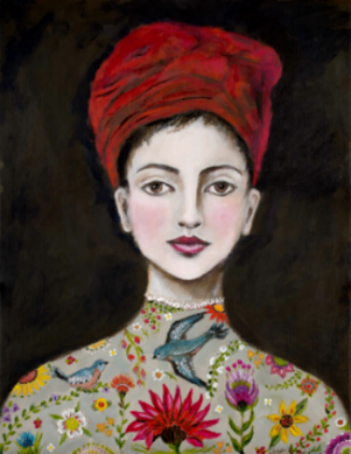 Girl With the Red Turban - limited edition prints
