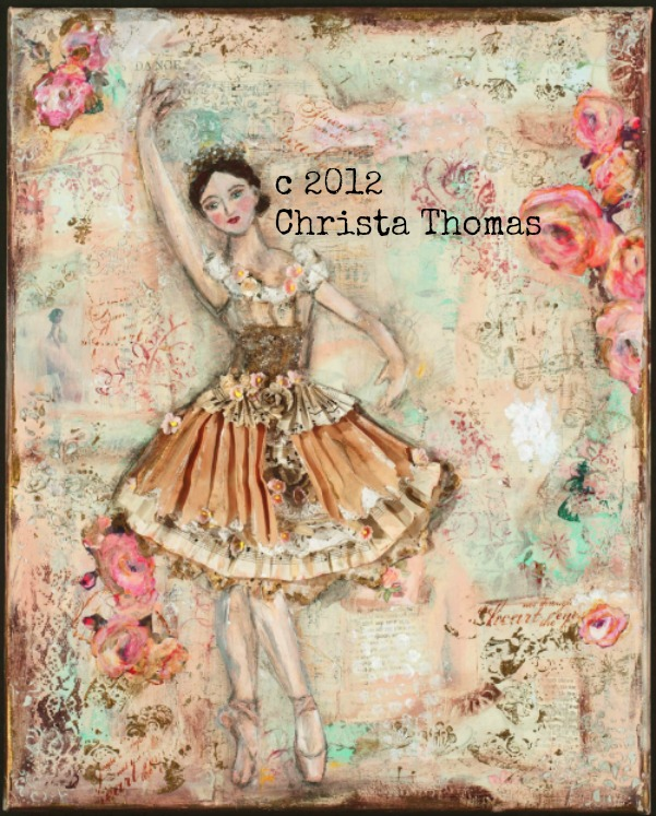 Oh Ballerina - Fine art print